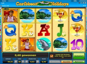 carribean holidays slot